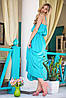 Атласное платье в пол | Federica sk, фото 2