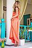 Атласное платье в пол | Federica sk, фото 4