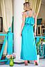 Атласное платье в пол | Federica sk, фото 5