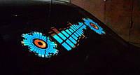 Эквалайзер на стекло авто №3 Sound