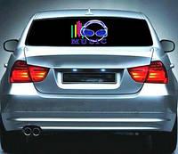 Эквалайзер на стекло авто №27 Music