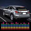 Эквалайзер на стекло авто Color (114*30cм) - Фото