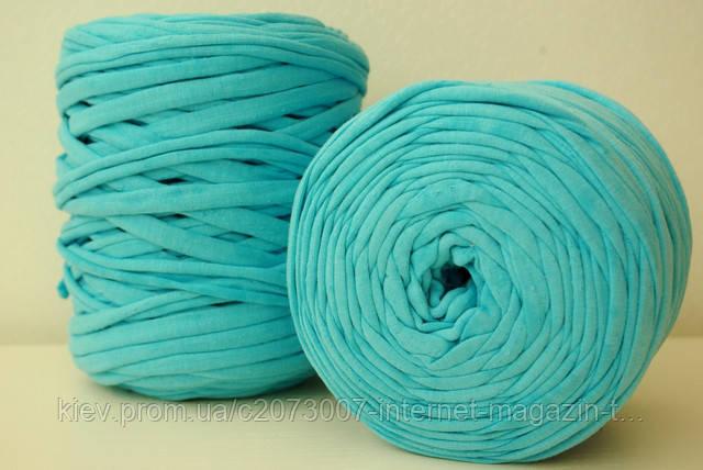 Новое поступление трикотажной пряжи в бобинах для ковриков и сумок, типа Spagetty
