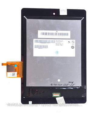 Модуль (Дисплей + сенсор) Acer A1-810, A1-811 module with touch, фото 2