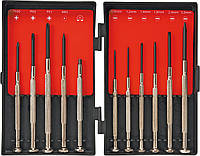 Отвертки прецизионные, набор 11 шт, Top Tools 39D194., фото 1