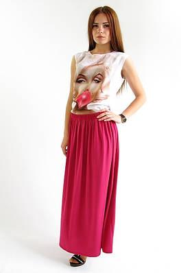 Длинная молодежная юбка. Юбка Вива