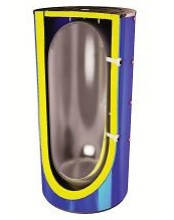 Емкость буферная (теплоаккумулятор) из черного металла без теплообменника серия STB-E 400л .... 5000л