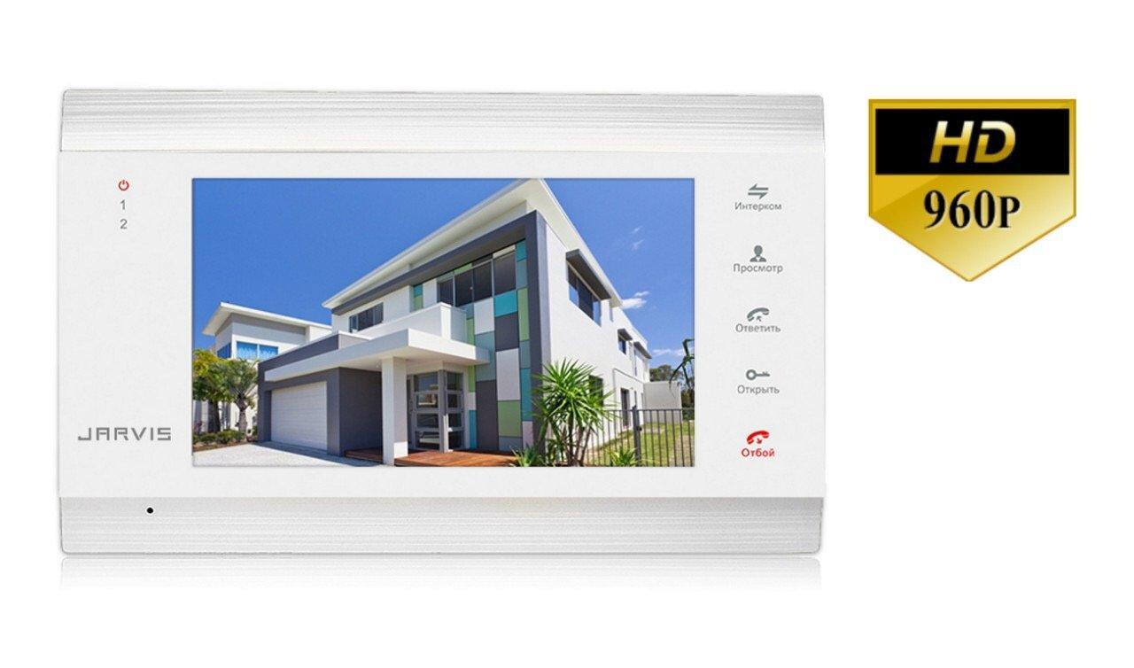 AHD 960P Видеодомофон с записью видео по-движению Jarvis JS-71MW HD+