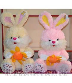 Мягкая игрушка Кролик с цветком 2329-42