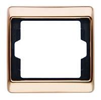 Рамка 1 постовая Berker Arsys Copper Med (13130007)