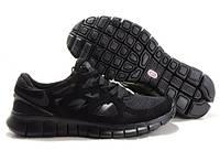 Кроссовки женские/мужские беговые Найк Nike Free Run 2.0 черные