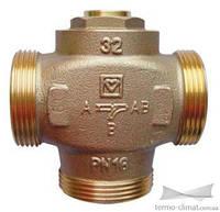 3-х ходовой термосмесительный клапан HERZ   DN32 с отключаемым байпасом