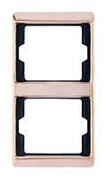 Рамка 2 постовая вертикальная Berker Arsys Copper Med (13230007)