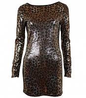 Эксклюзивный платье с мелкими паетками