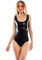 Сдельный латексный купальник Latex Swimsuit