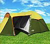 Палатка Abarqs Vigo-3,тамбур,зелено-золотая
