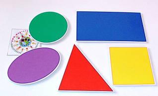 Наборы геометрических фигур, счётные палочки