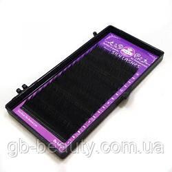 Черные ресницы Macy 0,2 D 11 (16 линий)