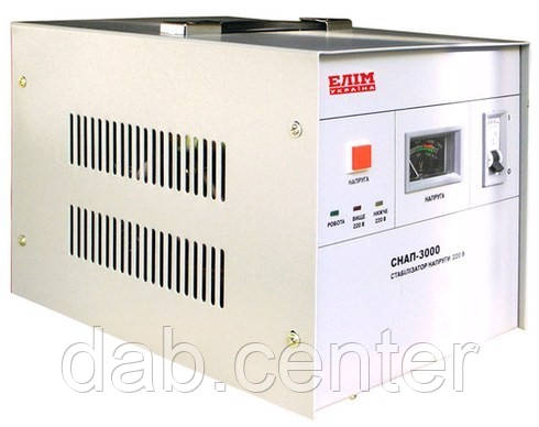 Стабилизатор переносной СНАП 3000 для дома, дачи, квартиры