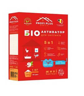 """Биоактиватор для септиков """"Profi +"""" 5в1 25 грамм."""