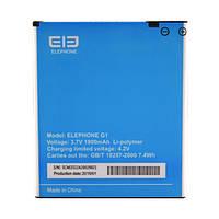 Аккумулятор Elephone Ele-G1. Батарея Elephone Ele-G1 (1800 mAh). Original АКБ (новая)