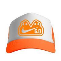 Кепка Nike white-orange