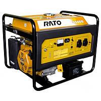 Бензиновая электростанция Rato R-6000-WTE (3ф, 6 кВт, стартер, колёса)