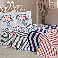 Постельное белье U.S. Polo Assn - Driggs пике полуторное