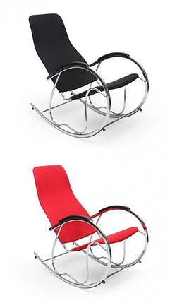 Кресло-качалка,металлическая,Ben-2, красная, фото 2