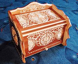 Хлебница из дерева в резьбе, фото 3