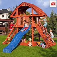 Детский игровой комплекс из дерева для улицы п32