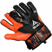 Перчатки вратарские SELECT 33 Allround (061), черн/оранж p.10