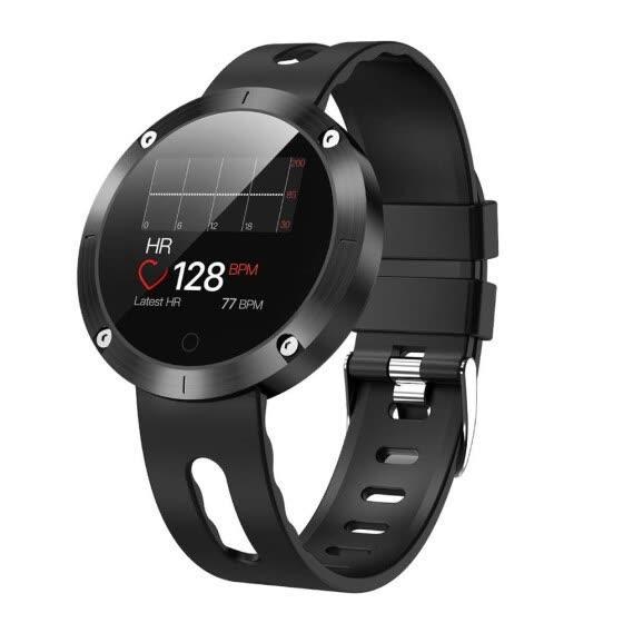 Smart Watch DM58 Plus c цветным экраном, тонометром. - Черный
