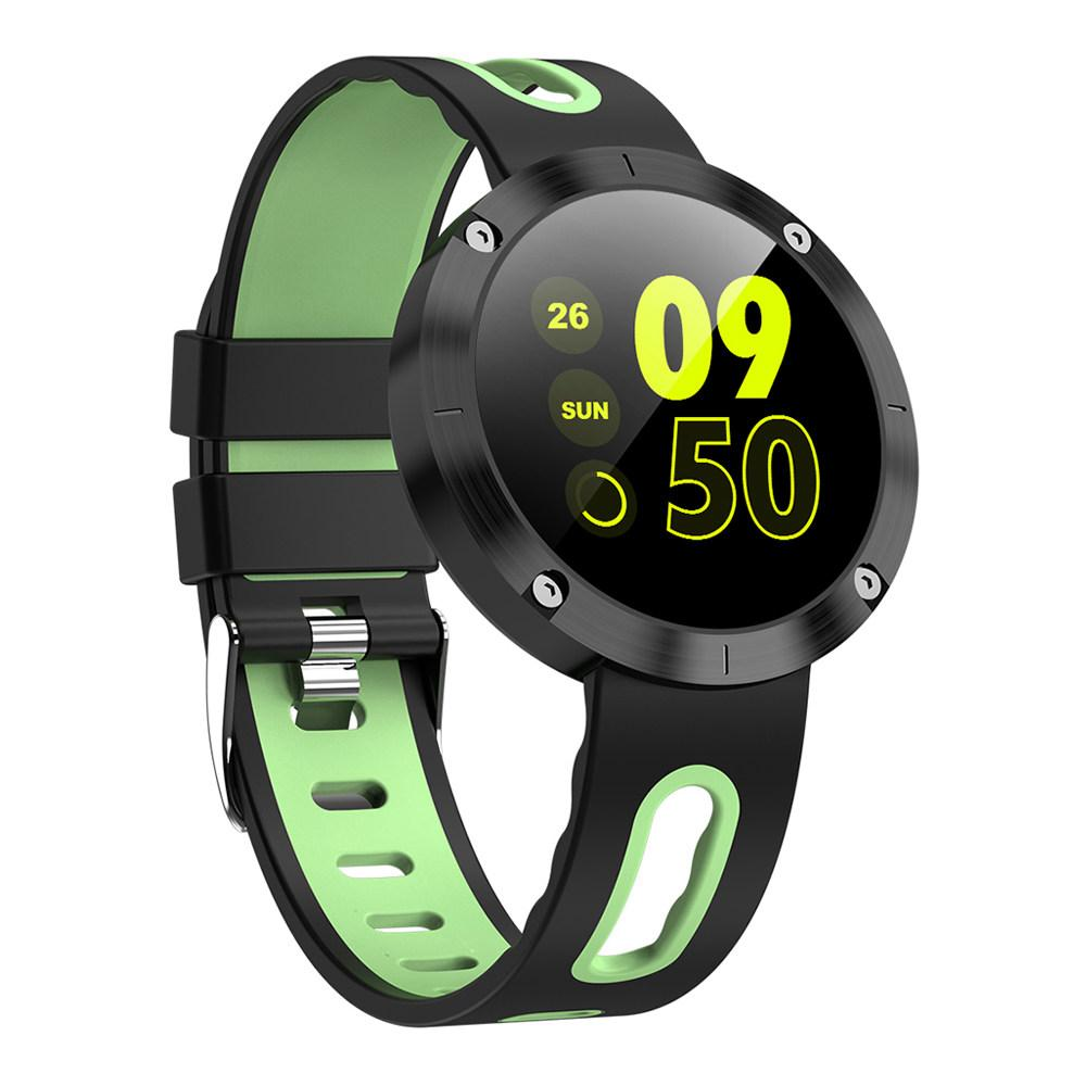 Smart Watch DM58 Plus c цветным экраном, тонометром. - Зеленый