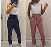 Женский комбинезон со штанами, версаче, размер 42-44, 46-48, 50-52, розовый, синий, фото 3
