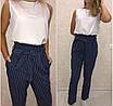 Женский комбинезон со штанами, версаче, размер 42-44, 46-48, 50-52, розовый, синий, фото 2