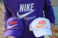 Кепка Nike violet and white