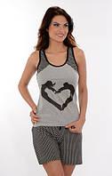 Женская пижама /домашний костюм с сердцем Onurel 780