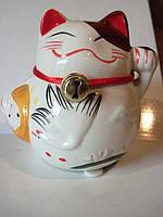 Статуэтка-копилка Счастливый кот Манеки Неко