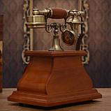 Стационарный деревяный gsm телефон sertec D1, фото 3