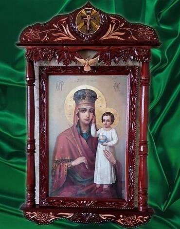 """Икона Божией Матери в киоте """" Призри на смирение """" большая, фото 2"""