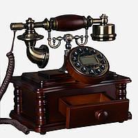 Стационарный деревяный gsm телефон sertec D2, фото 1