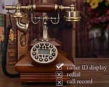 Стаціонарний дерев'яний gsm телефон sertec D3, фото 3
