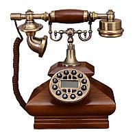 Стационарный деревяный gsm телефон sertec D3, фото 1