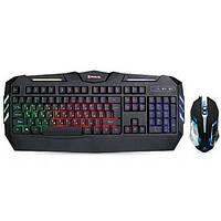 Клавіатура USB ігрова + мишка Real-El Gaming 9500 Kit