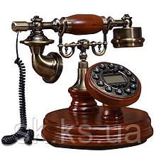 Стационарный деревяный gsm телефон sertec D5