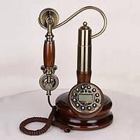 Стационарный деревяный gsm телефон sertec D6, фото 1