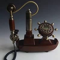 Стационарный деревяный gsm телефон sertec D8, фото 1