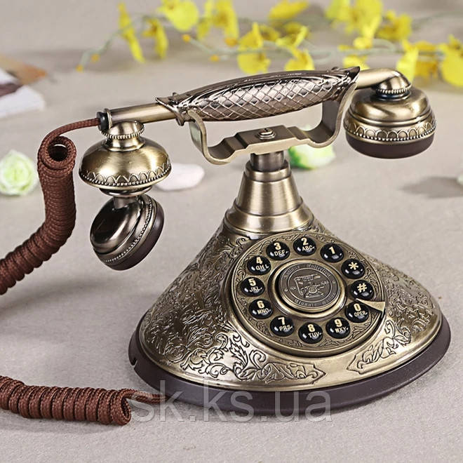 Стационарный металический gsm телефон sertec C1