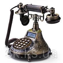 Стационарный металический gsm телефон sertec C2